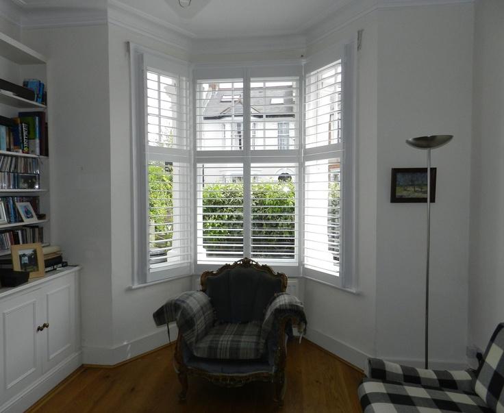 bay windows living room pinterest