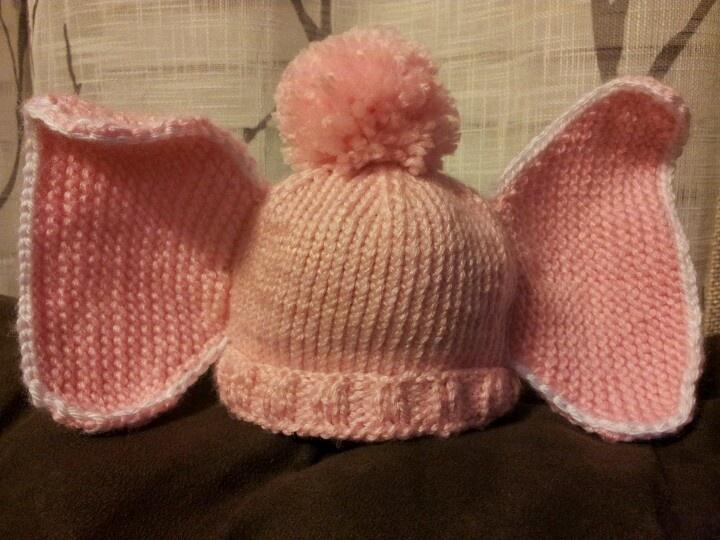 Elephant Ears Knitting Pattern : Knit elephant ear hat Gifts Pinterest