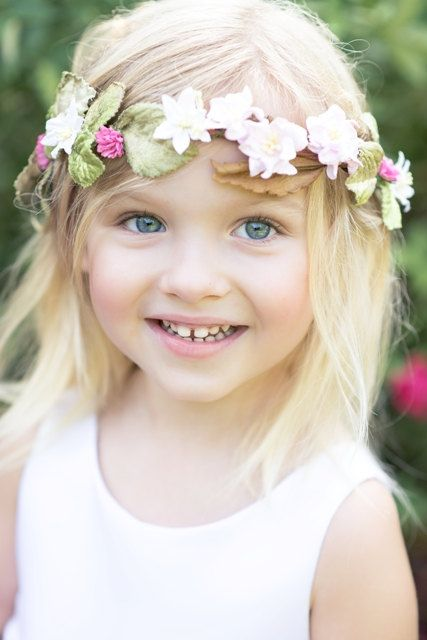 The Genevieve Flower Halo Flower Girl Collection By StylemeJaime 40
