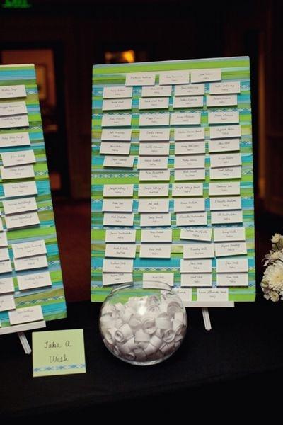 Wedding Escort Board Ideas : Found on weddingbee