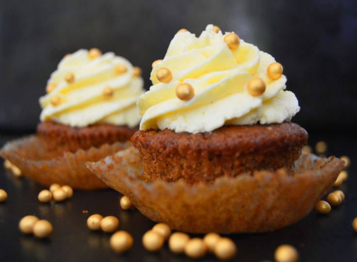 Carrot Cake Cupcakes with Orange Mascarpone Frosting | Recipe