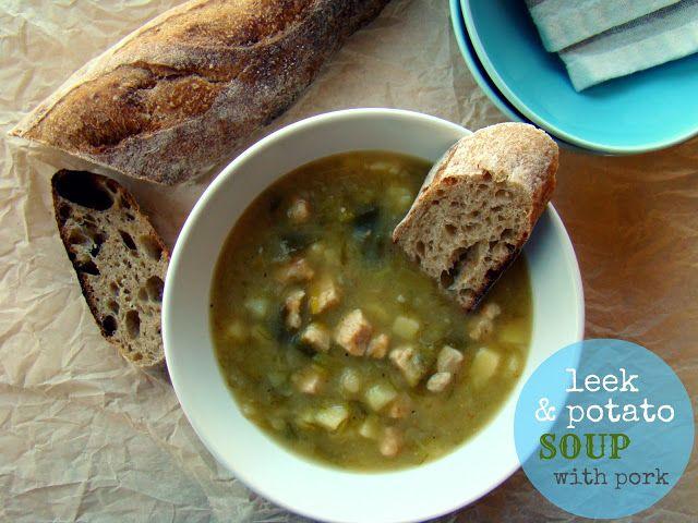 Agreeably Simple Potato Leek Soup Recipe — Dishmaps