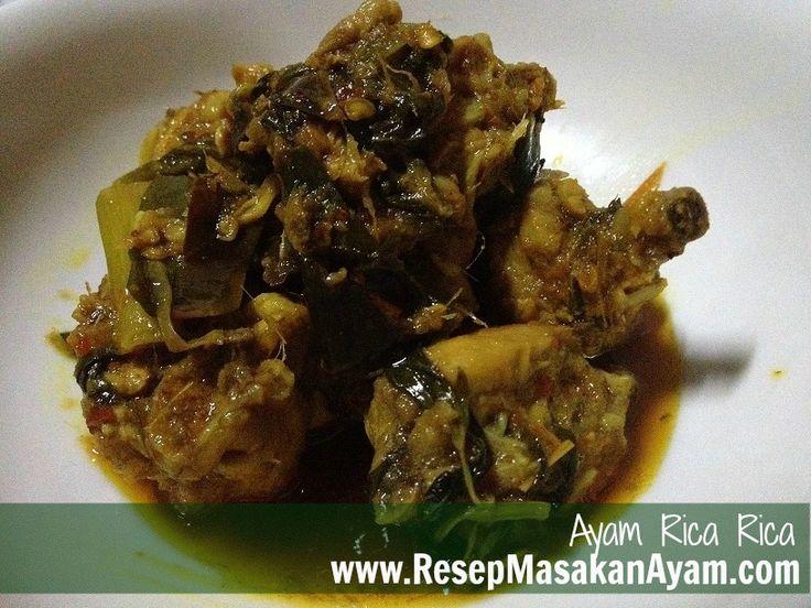 Resep Ayam Rica Rica Saus