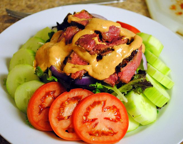chipotle steak salad http crazyjamie wordpress com 2011 09 16 chipotle ...