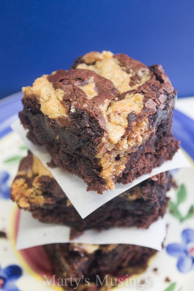 Chocolate Chip Cookie Dough Brownies | Recipe