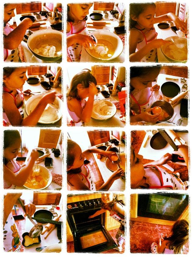 Osito de bizcocho de yogur hecho por Niara