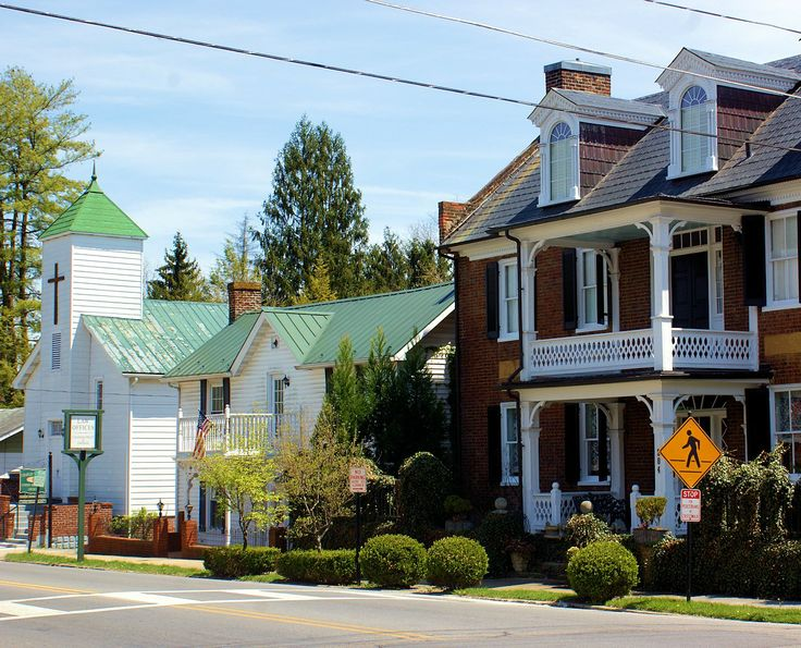 Pin by mikki barker on my hometown historic abingdon virginia pi - Homes in old churches ...