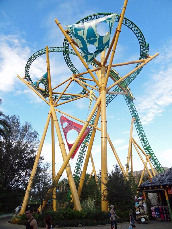 Cheetah Hunt Bush Gardens Tampa Usa Roller Coasters