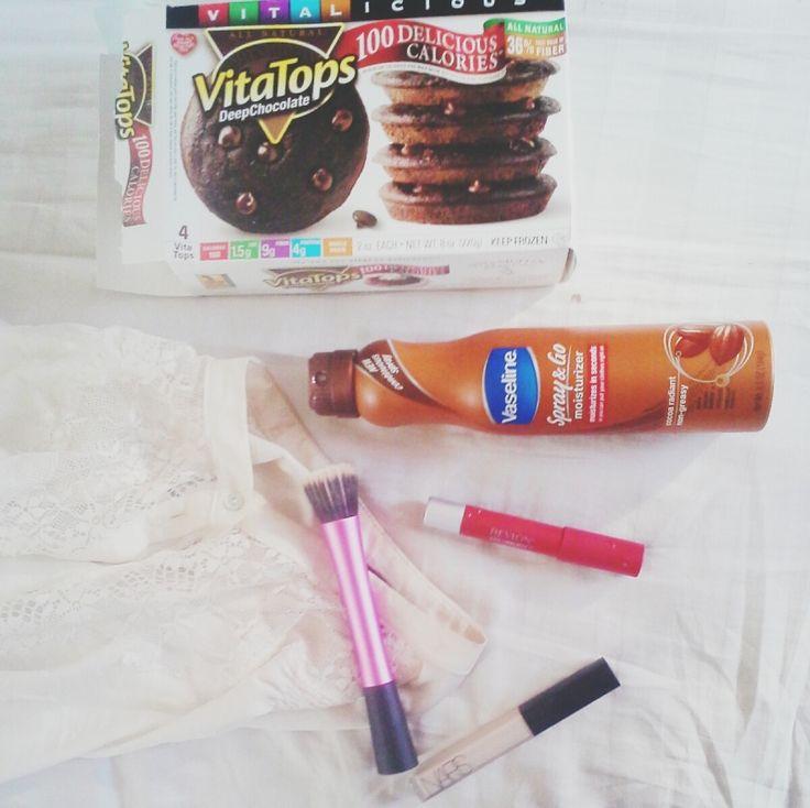 #februaryfavorites #vaseline #nars #realtechniques #revlon #vitatop