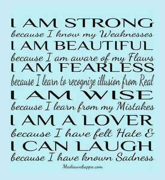 I Am Me Quotes For Facebook Quotes About Positive ...