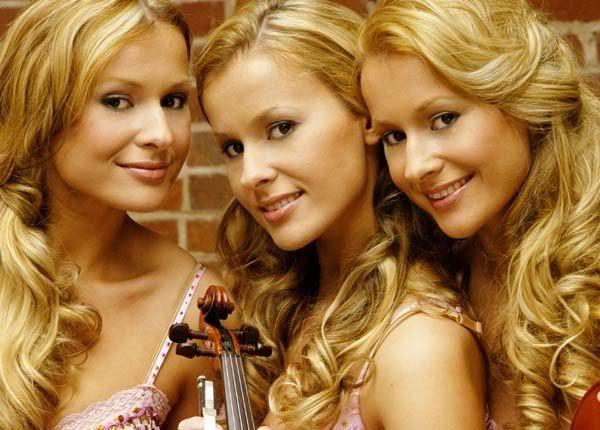 Identical triplets twins lesbians webcam 3
