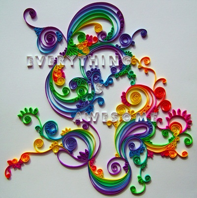 Cool paper crafts color pinterest for Cool paper ornaments