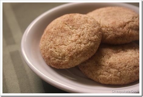 Healthified Sweets: Whole Wheat Snickerdoodles - I hate baking, but ...