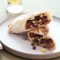 Spicy Bean and Cheese Burritos|