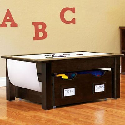 Activity and Storage TablePlay Childrens Furniture