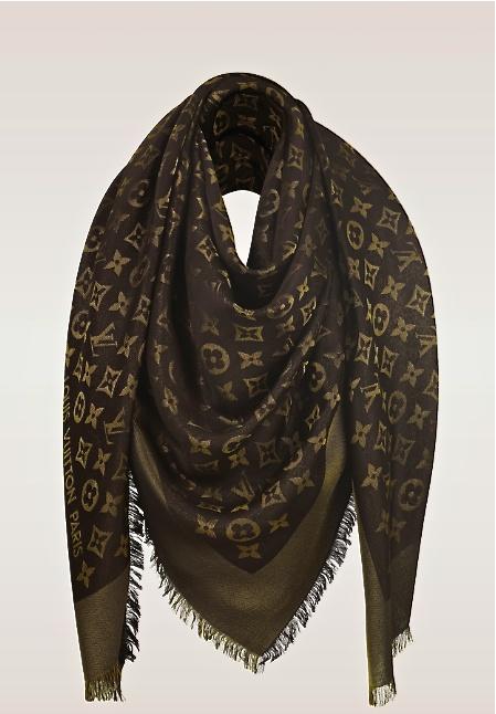 louis vuitton monogram shawl gorgeous accessories