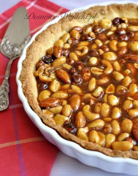 caramel nut tart | Desserts and Sweets | Pinterest