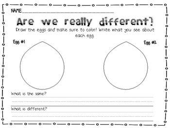 Martin Luther King Jr. Egg Activity | Kindergarten | Pinterest
