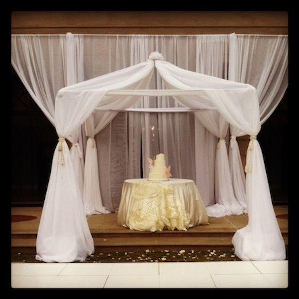 Wedding Caketables Cake Table Linens Pinterest