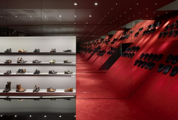 Kurt Geiger Stores in London, the ultimate shoe closet.