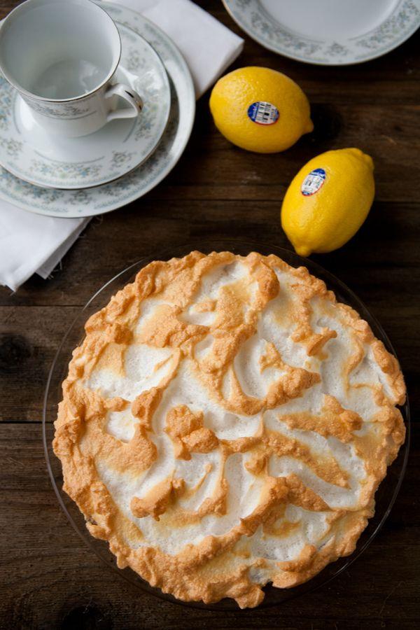Homemade Lemon Meringue Pie by EclecticRecipes.com #recipe