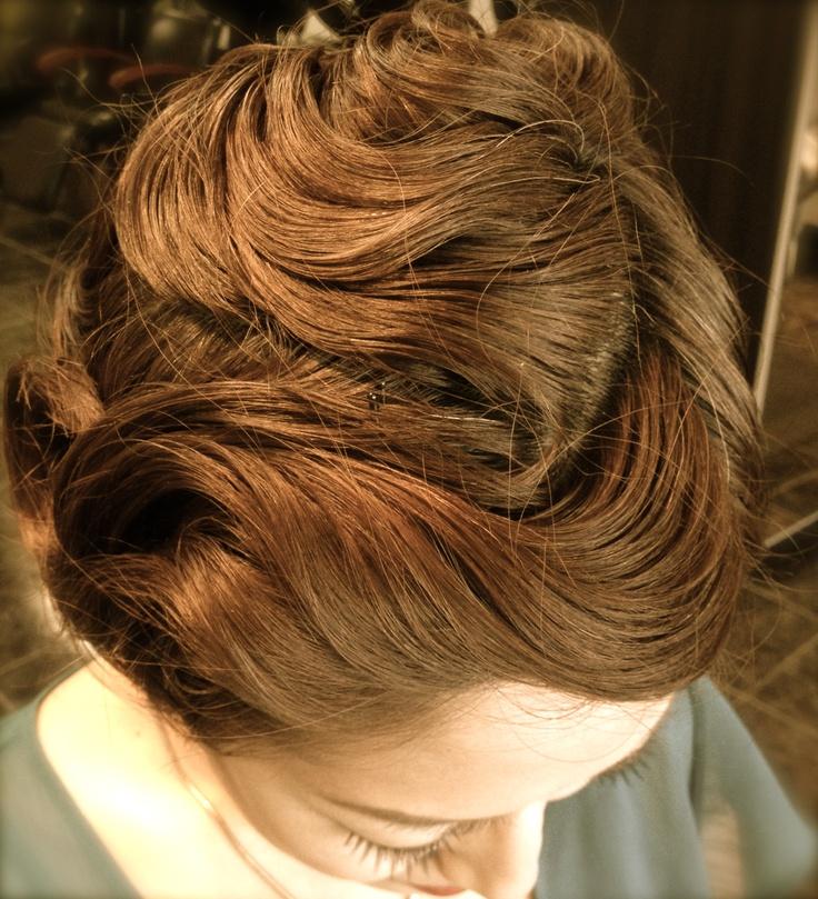 Pin Curls Finger Waves Hair