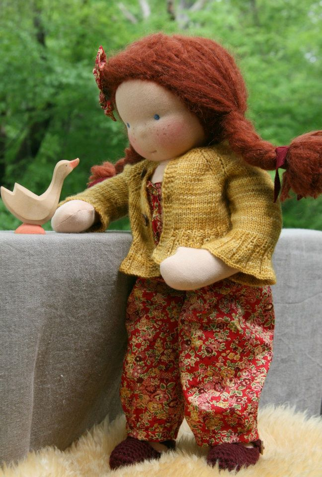 16 inch doll by Nobby Organics