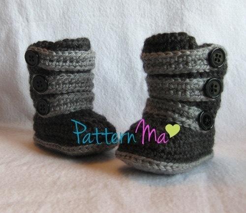 baby uggs to crochet