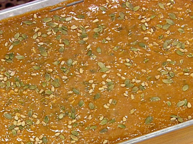 Pumpkin Seed Pecan Brittle Recipe — Dishmaps