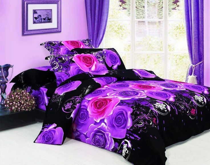 Purple Bedroom Anything Purple Is Awesome Pinterest