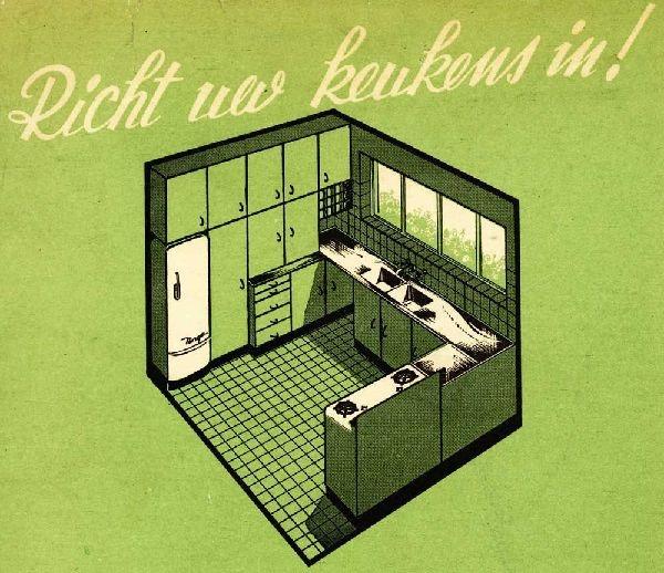 Cubex Keuken De Koninck : 20 had architect Louis-Herman de Koninck zijn beroemde Cubex-keuken