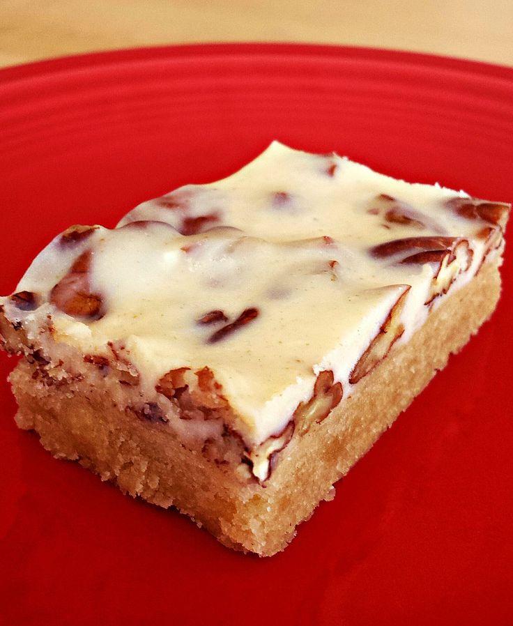 caramel pecan shortbread | Food: Desserts (Paleo, Keto, GAPS) | Pinte ...