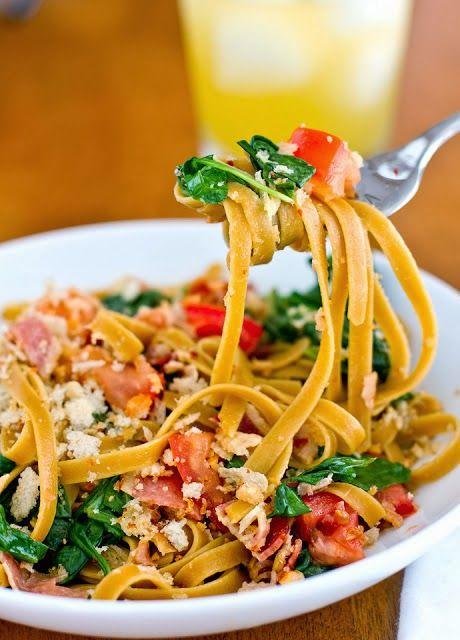 BLT pasta   Favorite Recipes   Pinterest