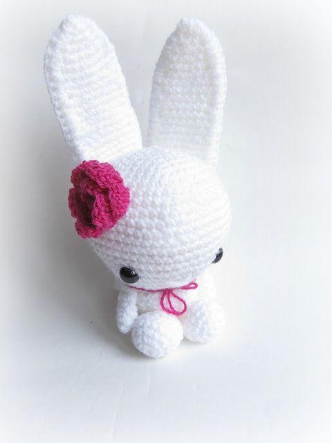 Kokeshi Amigurumi Pattern Free : Bunny, Free pattern Crochet - amigurumi Pinterest