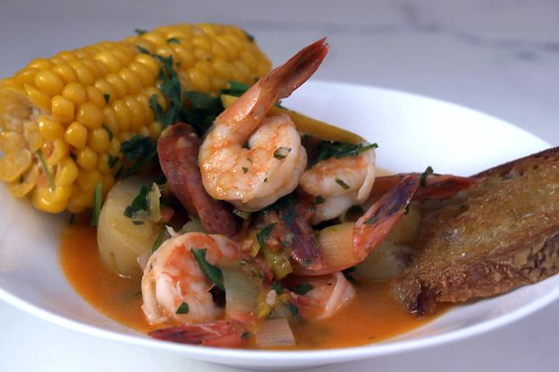Frogmore Stew - This hearty soup is a more refined version of the ...