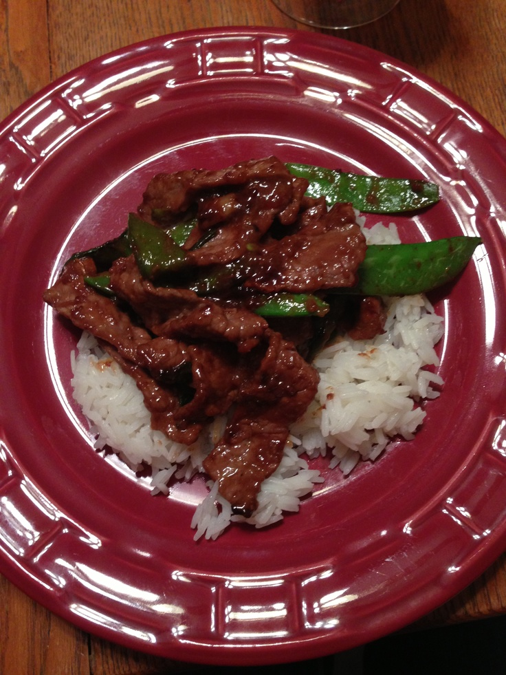 The Pioneer Woman - Beef with Snow Peas | Dinner/Main Course ...