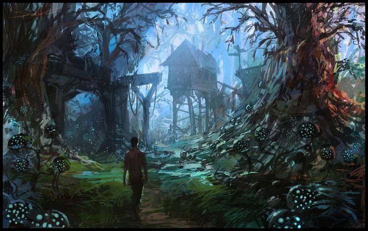 dark forest  sealedabstract  2013 Forest Wizard