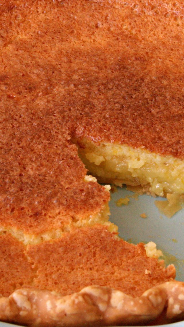 Meyer Lemon Chess Pie | Food | Pinterest