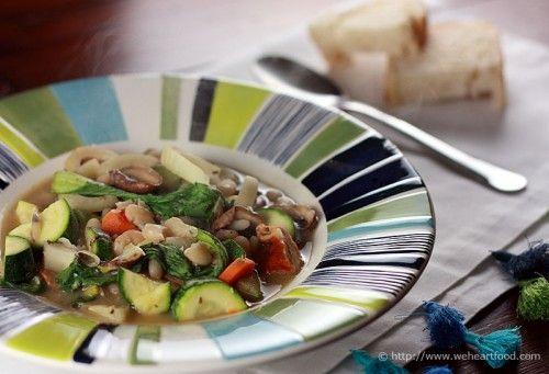 White Bean And Mushroom Stew Recipe — Dishmaps
