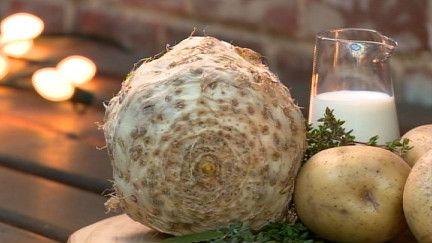 Purée céleri rave pommes de terre