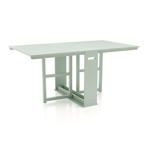 Span mint gateleg dining table hoboken pinterest for Gateleg dining table