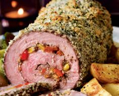 Panko-Crusted Beef Roulade | Meals | Pinterest