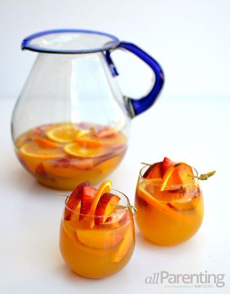 Summer citrus peach sangria | Tasty Treats | Pinterest