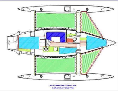 Как построить тримаран своими руками 79