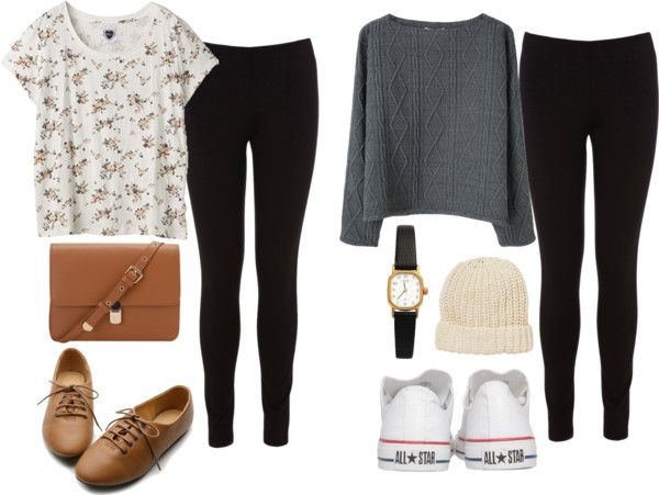 Cute Outfits With Leggings For School Polyvore