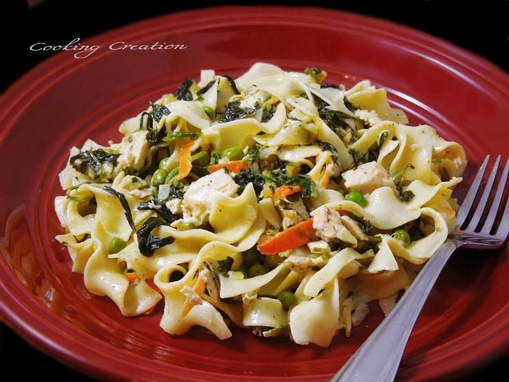 Chicken Florentine Casserole | Pasta's and Casseroles | Pinterest
