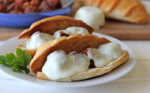 Italian Meatball Sub Sandwiches | It's soo Yummy! | Pinterest