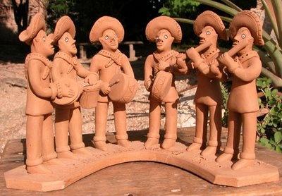 Clay Sculpture, by Mestre Vitalino