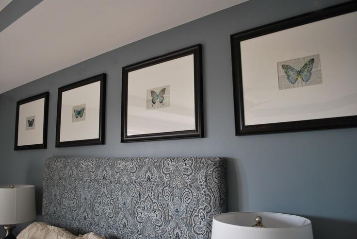 Leiter Lady Blog Bedroom Reveal Valspar Sharkfin Paint Paint Pinterest