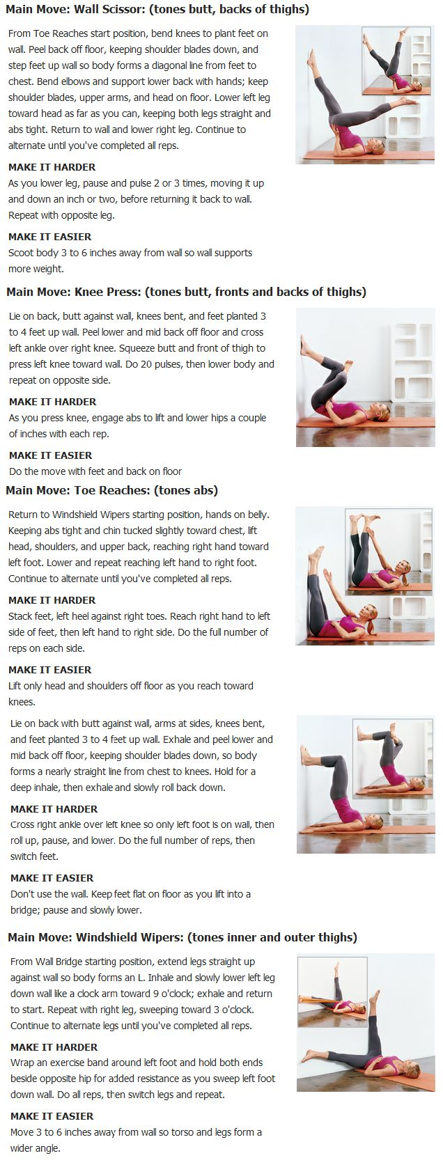 Butt, thigh and ab slimming exercises | Heathy Lifestyle ...